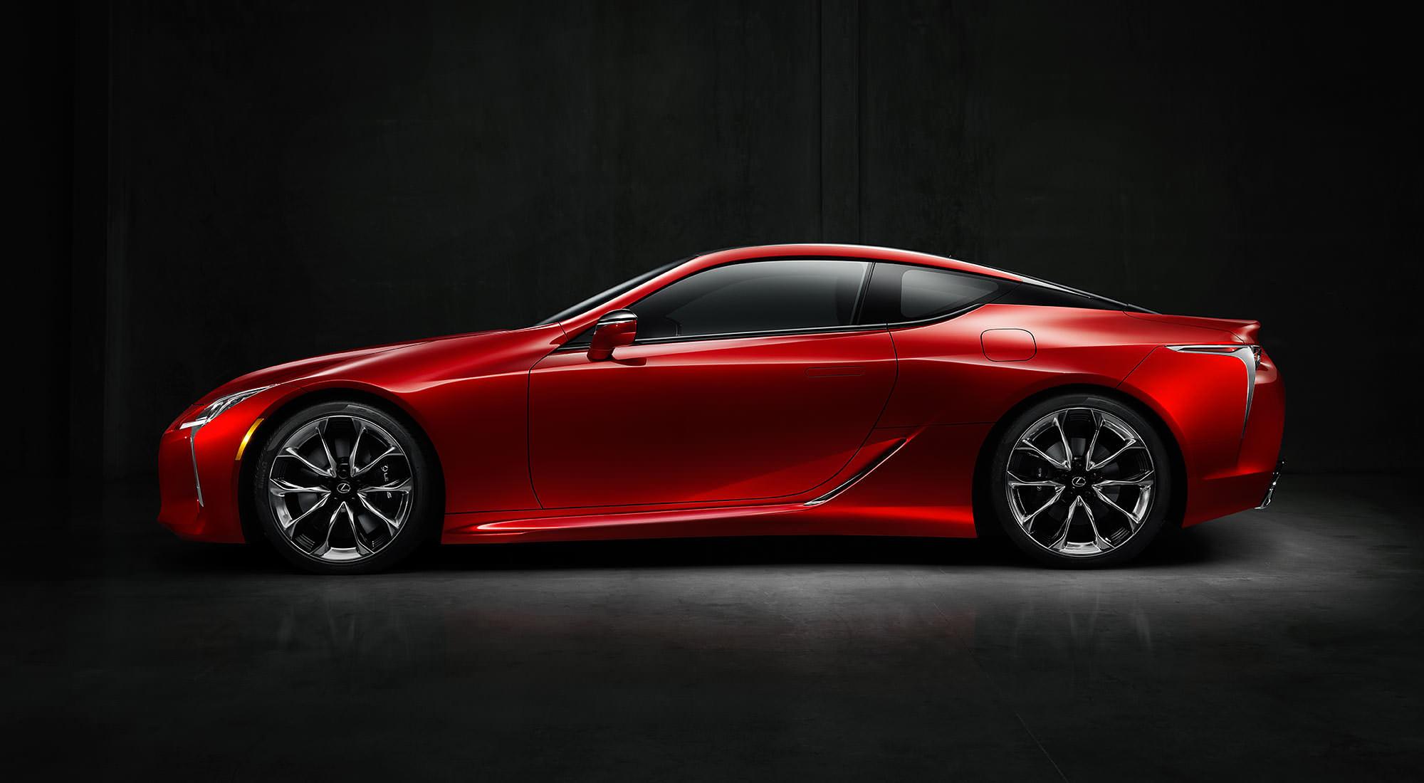 Retour sur l'édition 2016 du salon de Detroit - Lexus LC 500