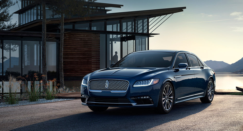 Retour sur l'édition 2016 du salon de Detroit - Lincoln Continental 2016