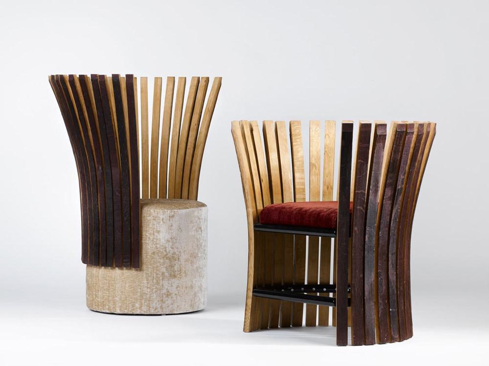 Wine & Design Collection Fauteuil par Enzo Pascual