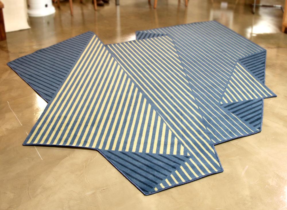 Folded Tones - tapis graphique par Enoch Liew
