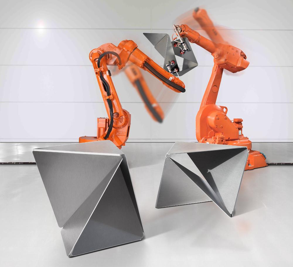 Trifold mobilier industrialisé par Max Hauser