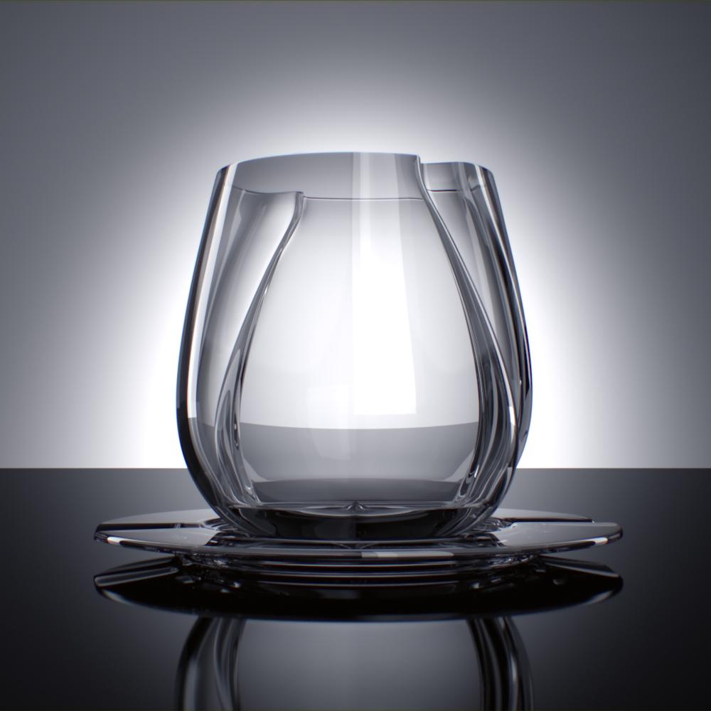 PEGTOP verre graphique par Anastasia Gavrilova
