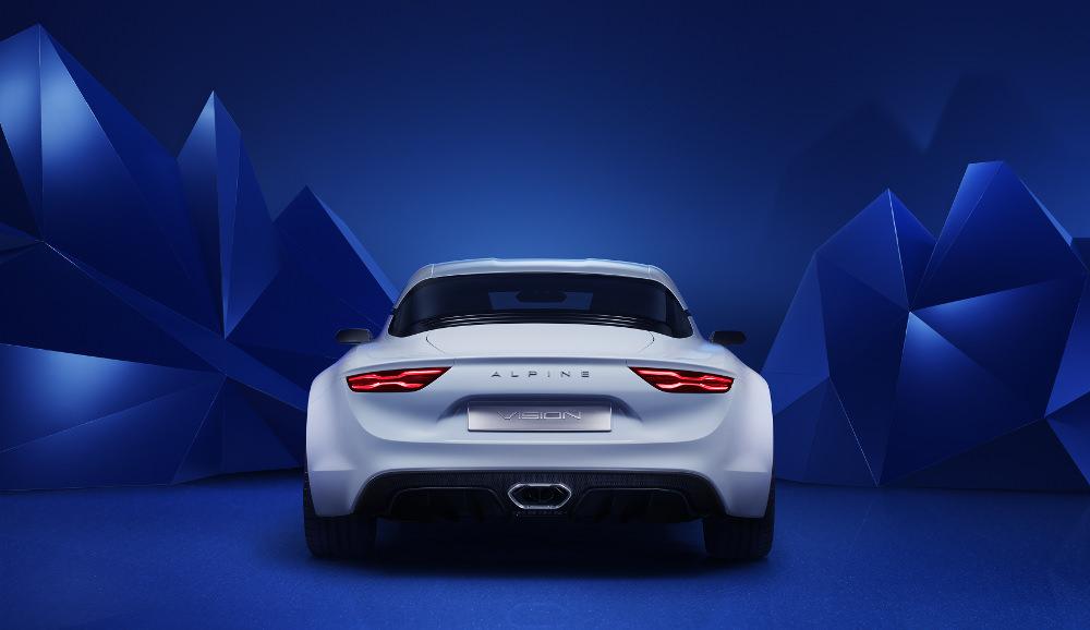 Alpine Vision 2016 le design au service du mythe