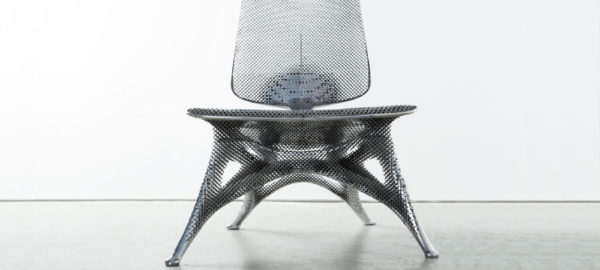 Aluminum Gradient Chair par Joris Laarman