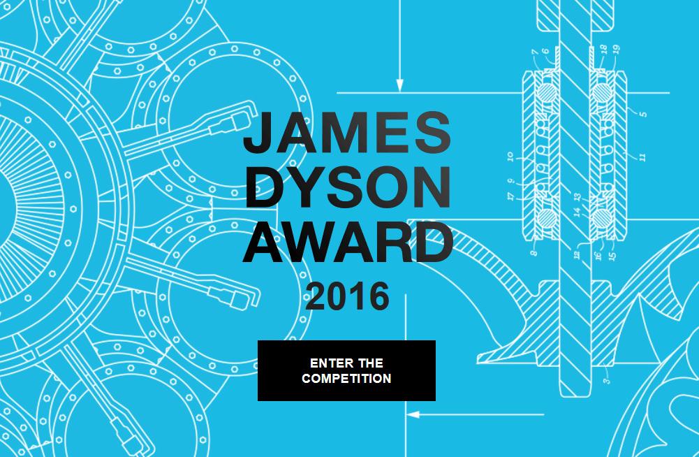 Appel à Projet : James Dyson Award 2016