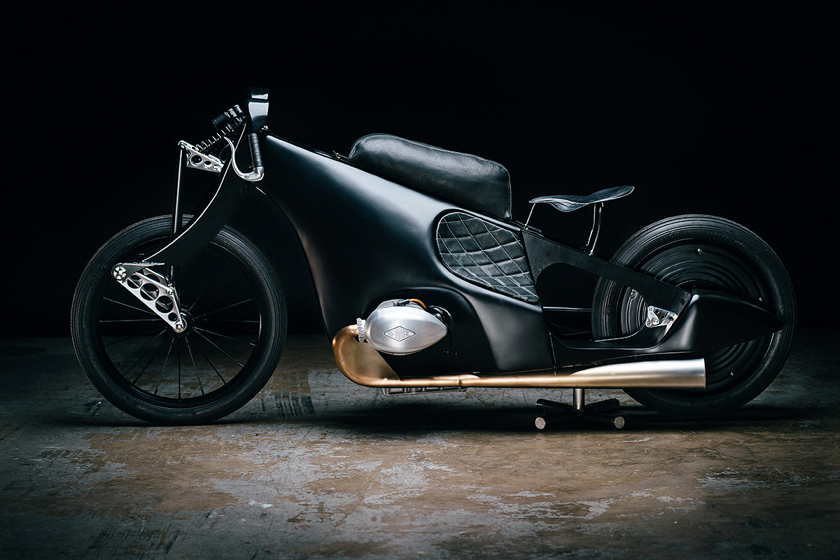 bmw landspeeder moto retro futuriste blog esprit design. Black Bedroom Furniture Sets. Home Design Ideas
