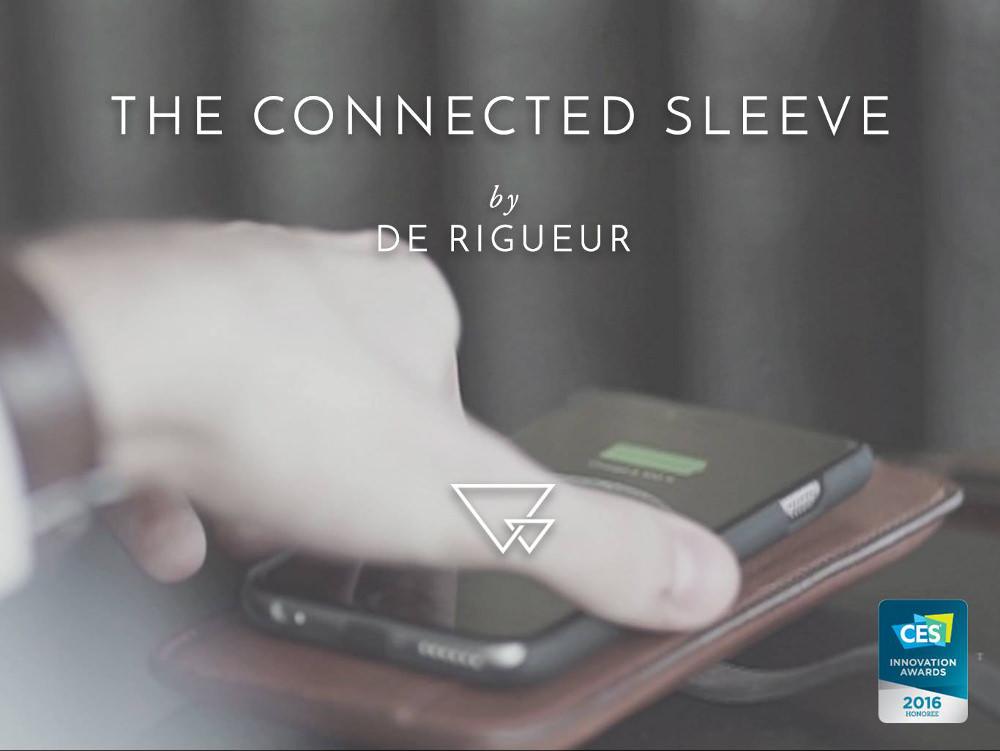 Crowdfunding : Connected Sleeve par De Rigueur