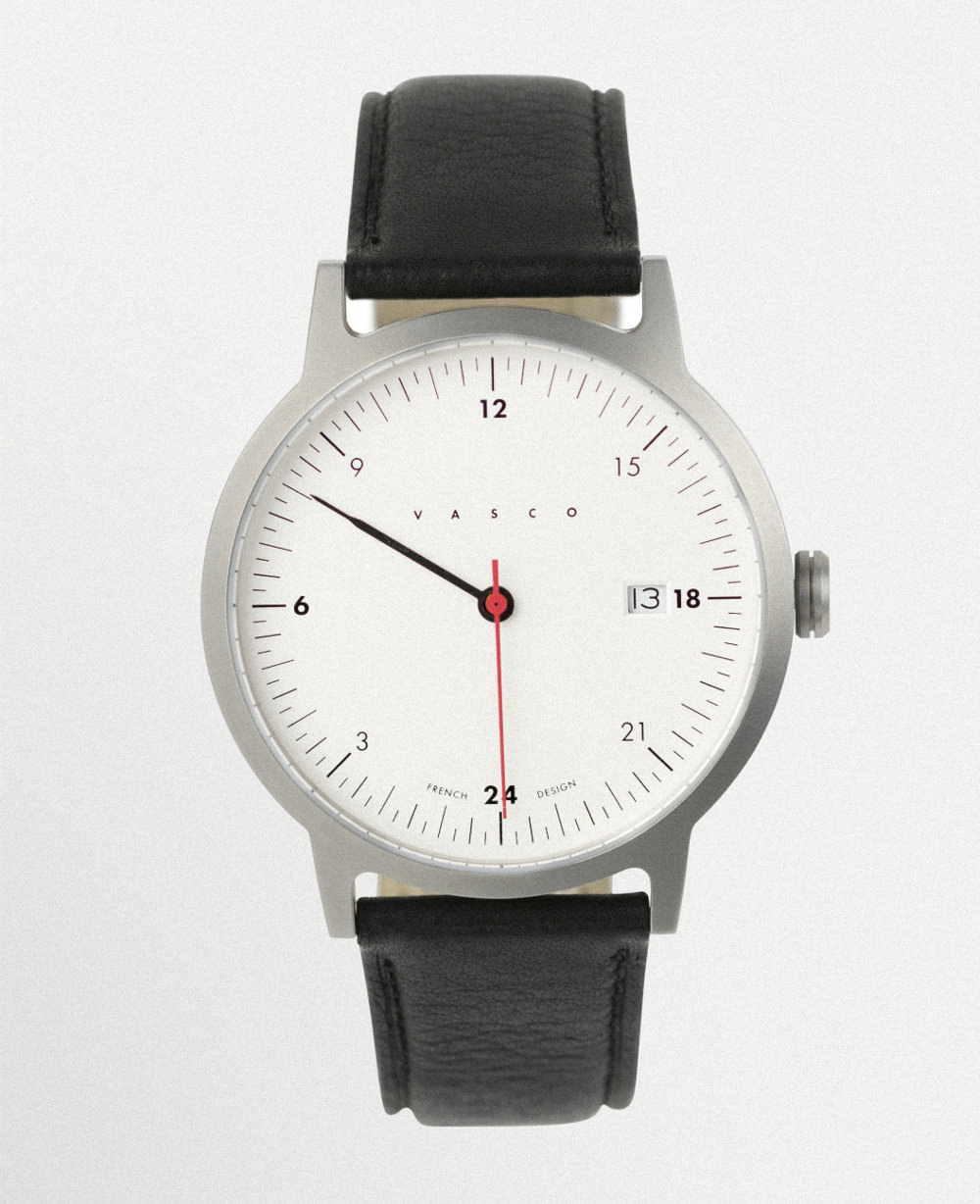 Crowdfunding deux nouvelles montres par vasco watch blog esprit design for Vasco watches