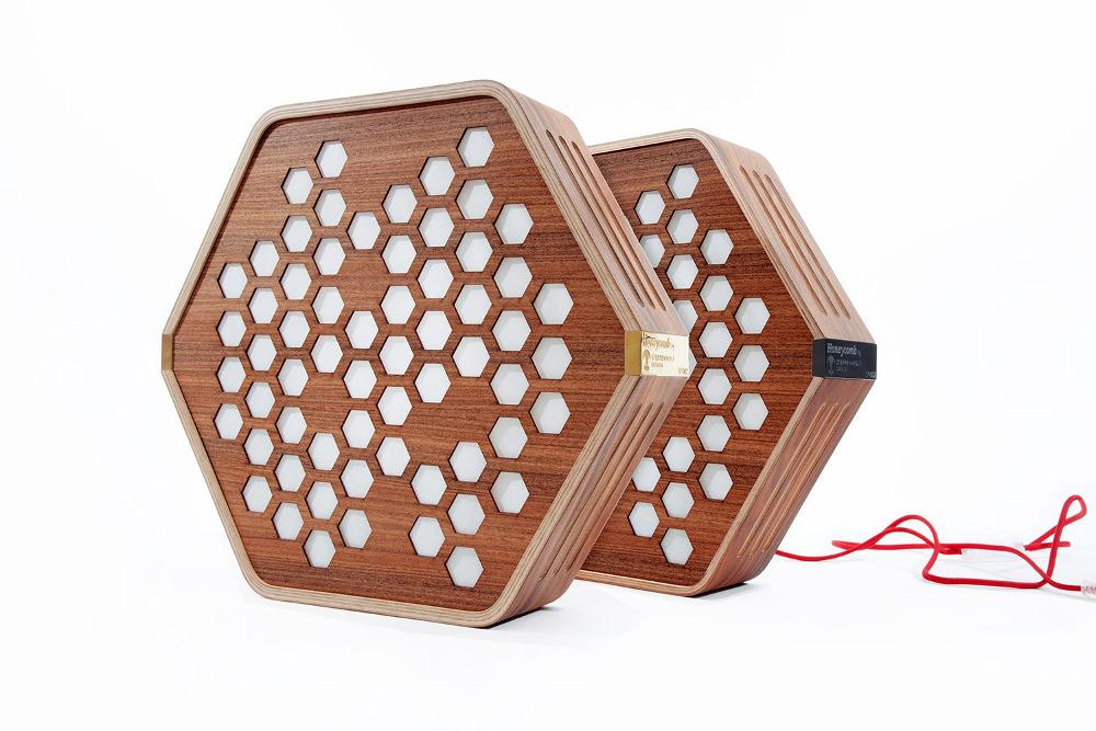Honeycomb luminaire STEPPENWOLF DESIGN