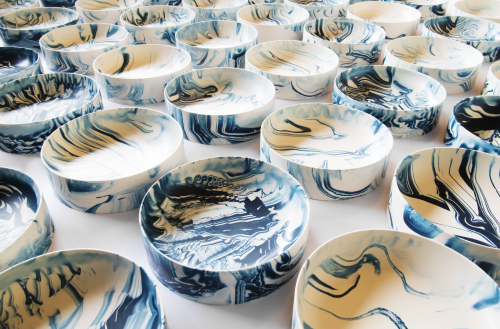 Poured Bowls - Troels Flensted