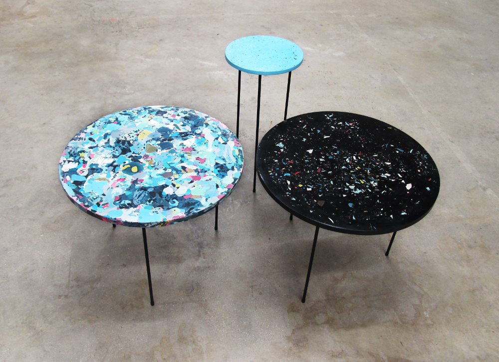Poured tables - Troels Flensted