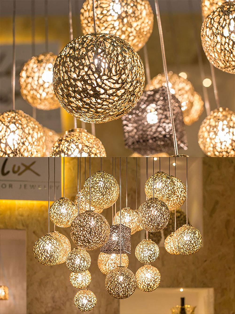 Luminaire en bronze fini or 24 carats par Alessandro Galanti pour Al Gala Lux Interior Jewelry