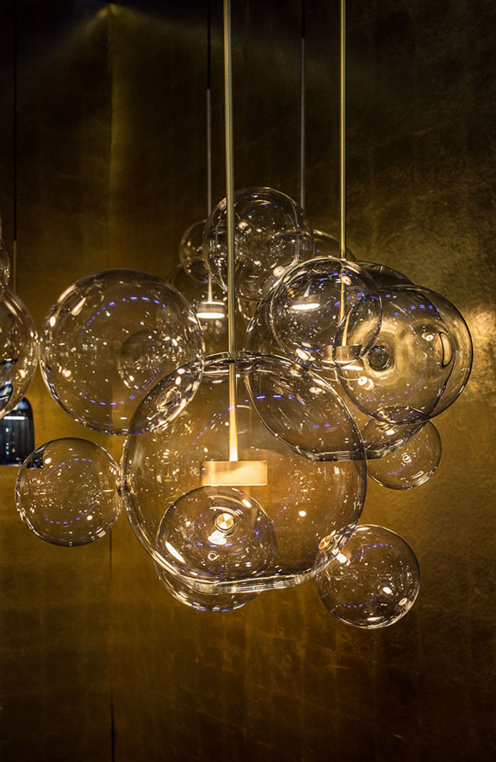 Lampes Bolle par Giopato & Coombes
