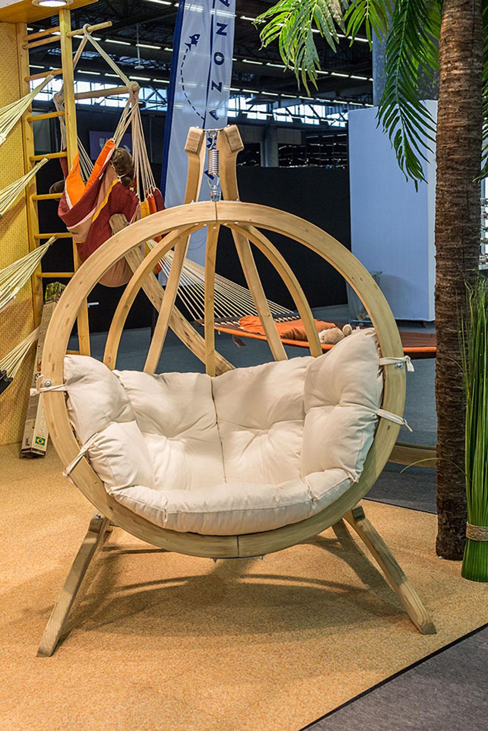 Chaise en suspension outdoor par Amazonas