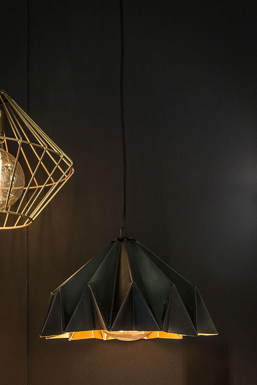 Lampe en suspension par Opjet