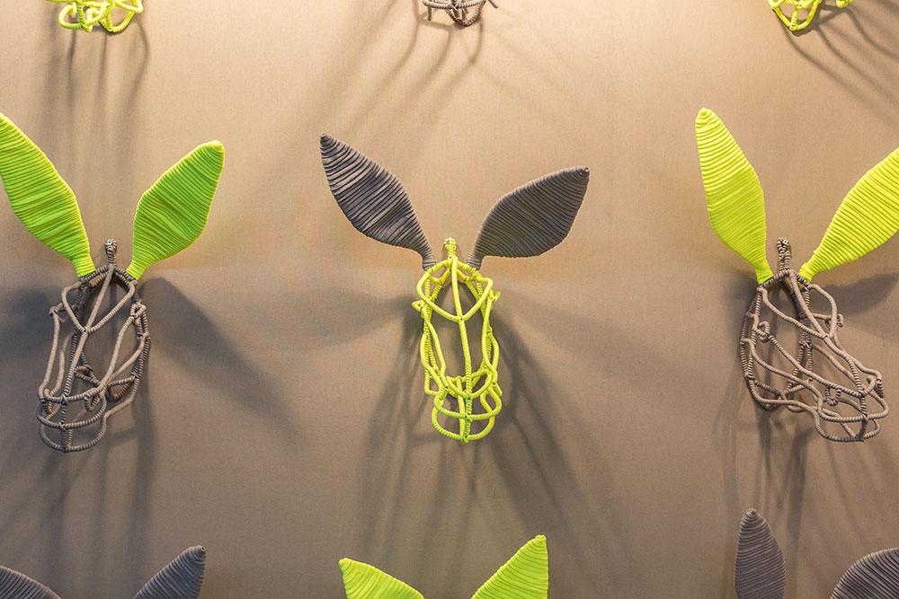 Appliques murales Wire Donkey par Fudje