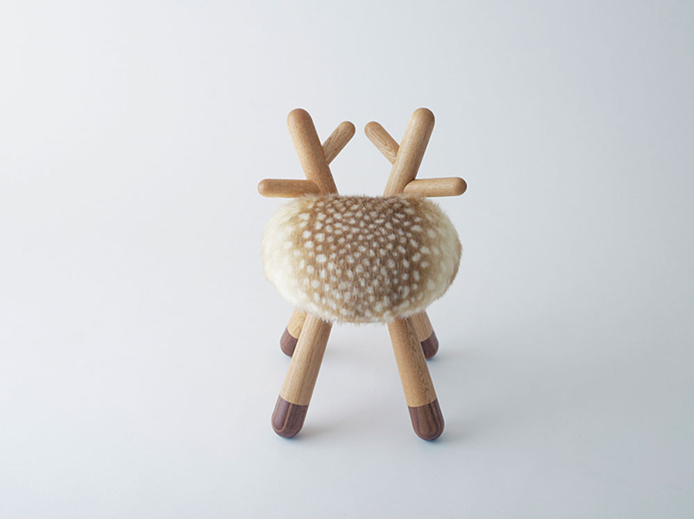 Chaise Bambi par Takeshi Sawada pour Eléments Optimal