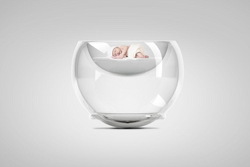 Berceau Bubble Baby Bed par Lana Agiyan
