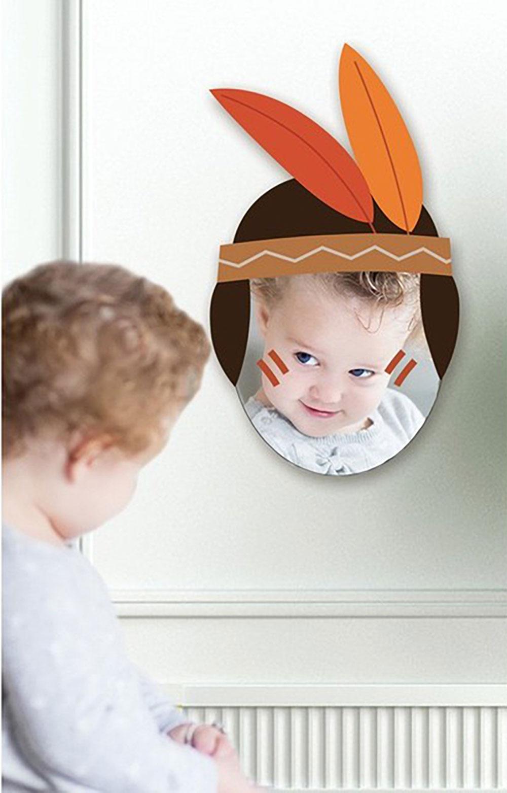 Miroir Cowboy par Decoloopio