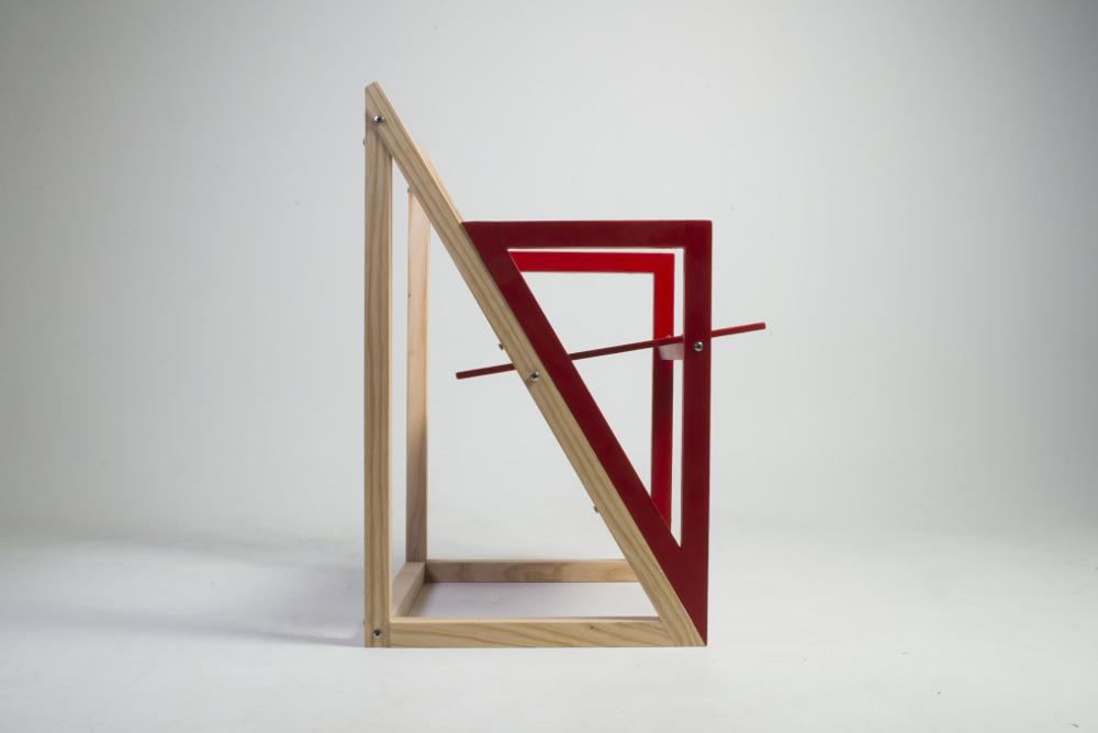 Radikal chaise par Susanne Rom et Cecilie Kristoffersen