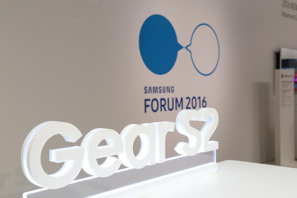 Reportage au Samsung Forum 2016 Monaco