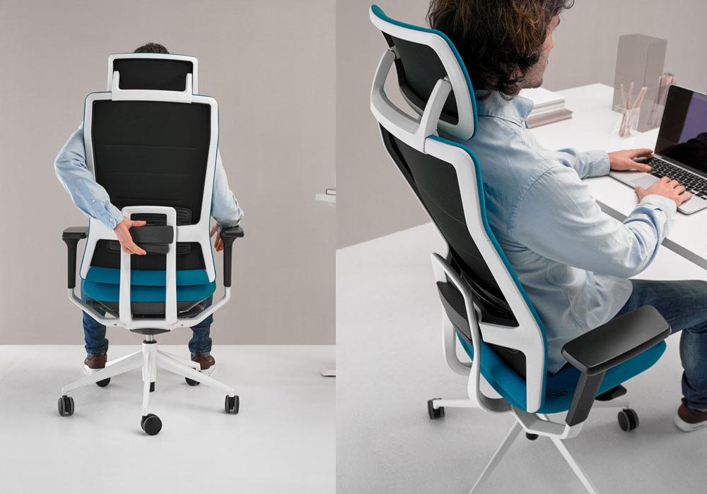 chaise de bureau design fabulous hely chaise pivotante en acier chrom habillage gammes t ou t. Black Bedroom Furniture Sets. Home Design Ideas