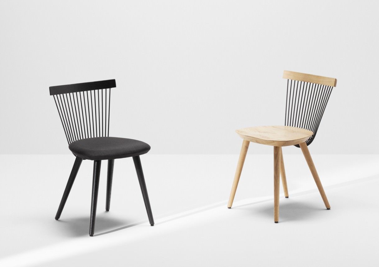 Ww chair nouvelle chaise windsor par le studio hierve for Les chaises design