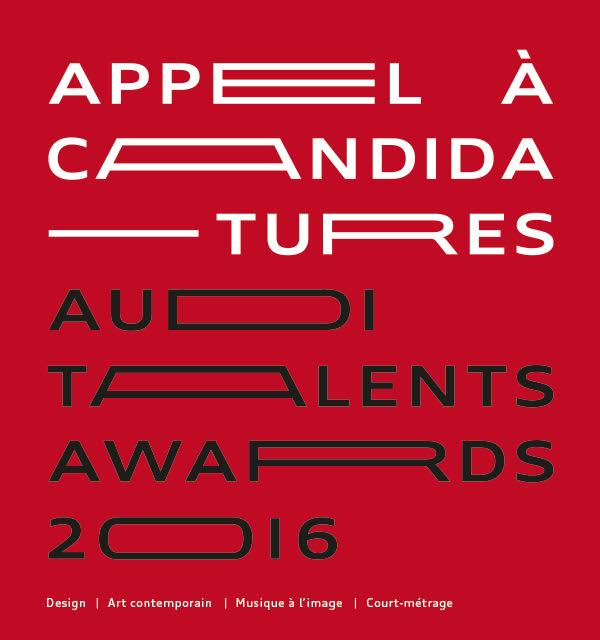 Appel à candidatures : Audi Talents Awards 2016