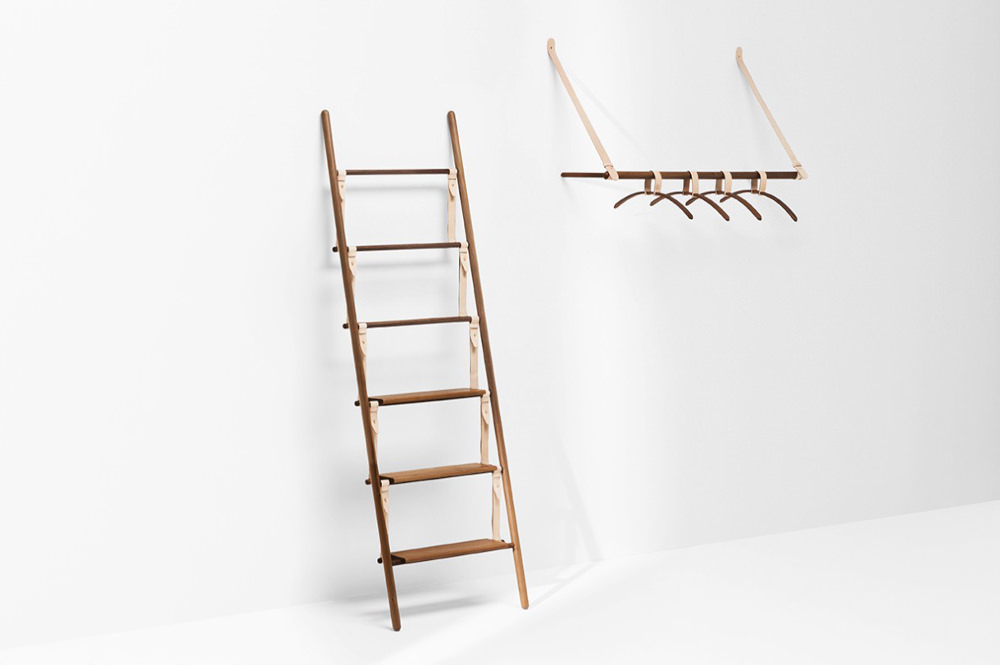 Belt hanging rack portant v tement par jessica nebel blog esprit design - Chevalet vetement design ...