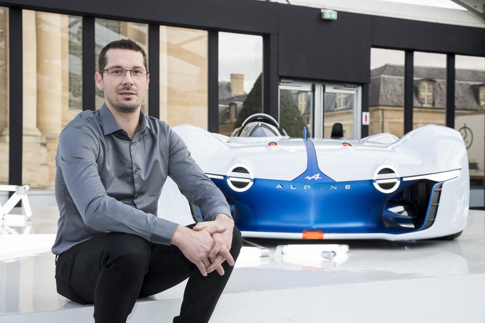 Interview : Antony Villain, Directeur du Design Alpine