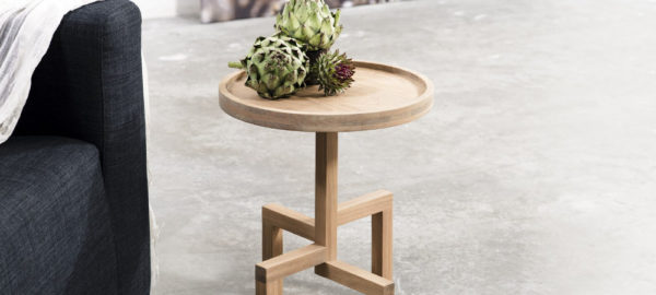 ROOTS table d'appoint en chêne par Gerard de Hoop