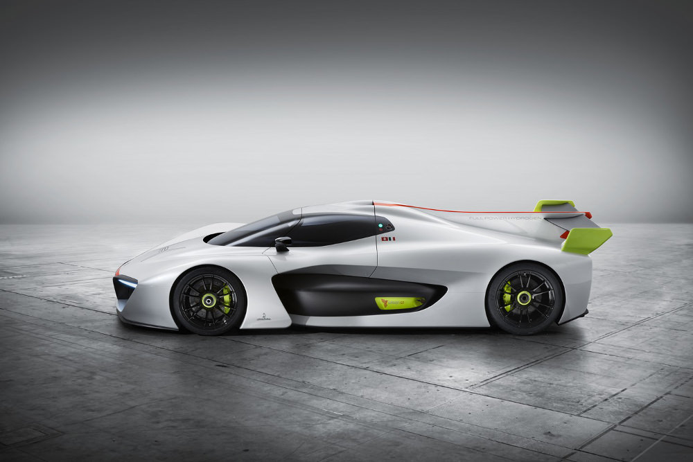Salon Automobile Genève 2016 : Pininfarina H2 Speed Concept