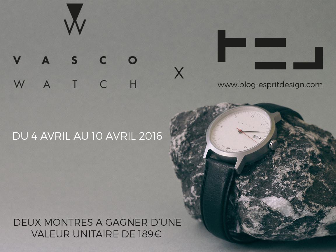 CONCOURS : VASCO Watch x BED les RÉSULTATS