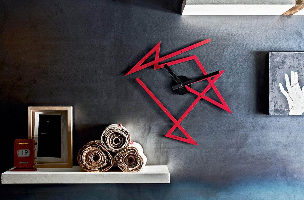 Horloge Time Maze par Daniel Libeskind pour Alessi