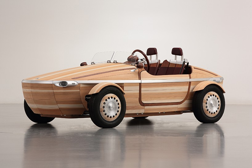 Preview Milan Design Week : Toyota Setsuna voiture en bois