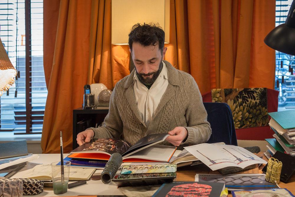 Le designer Laurent Crabette