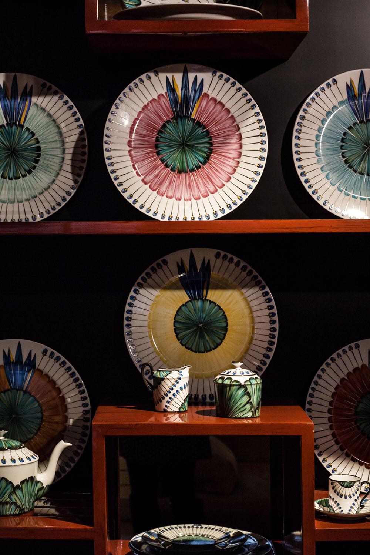 Collection Bahia, en porcelaine de Limoges - Peint à la main