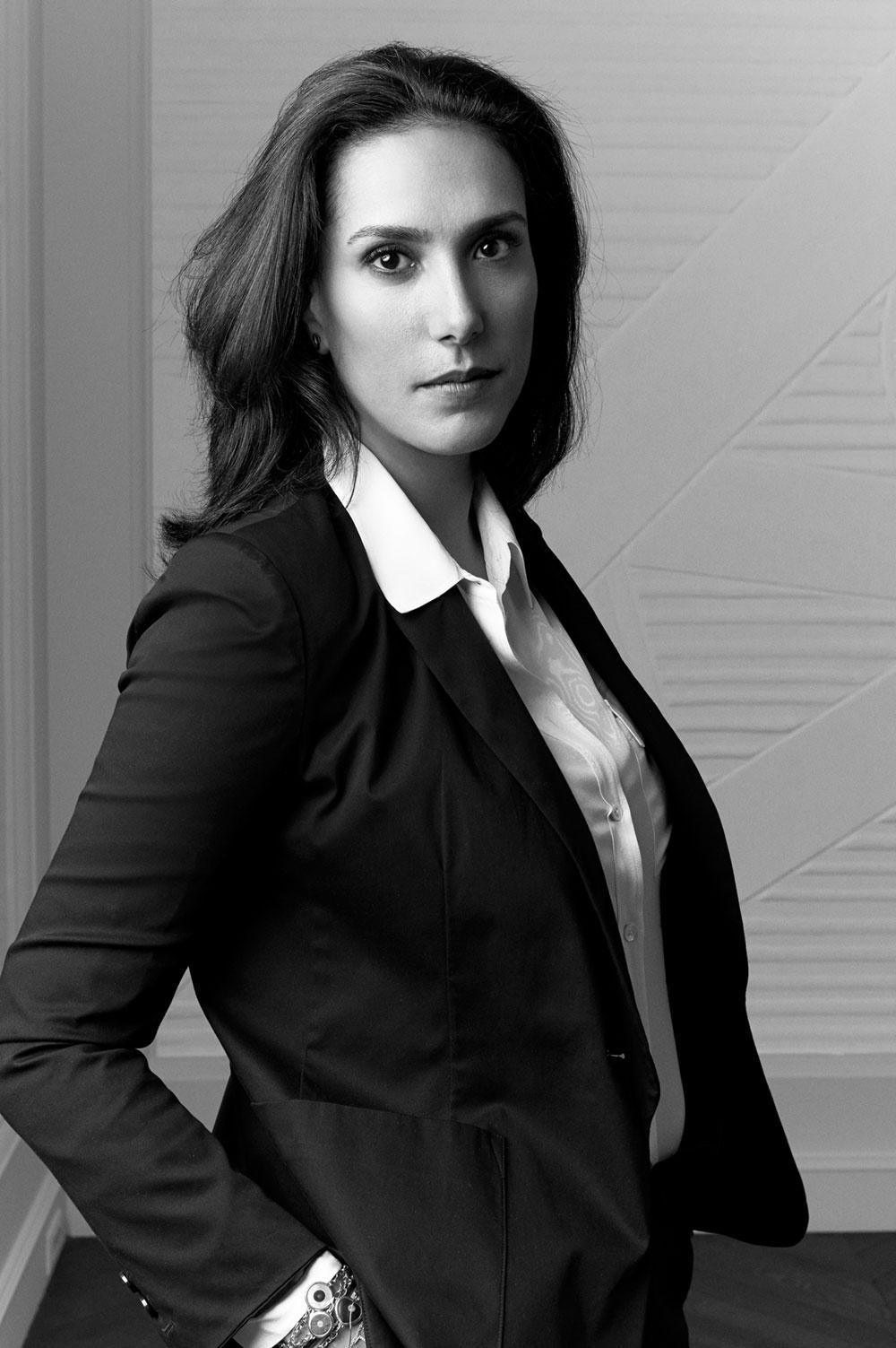 Davina Koska, fondatrice et directrice artistique de la maison Pinto Paris
