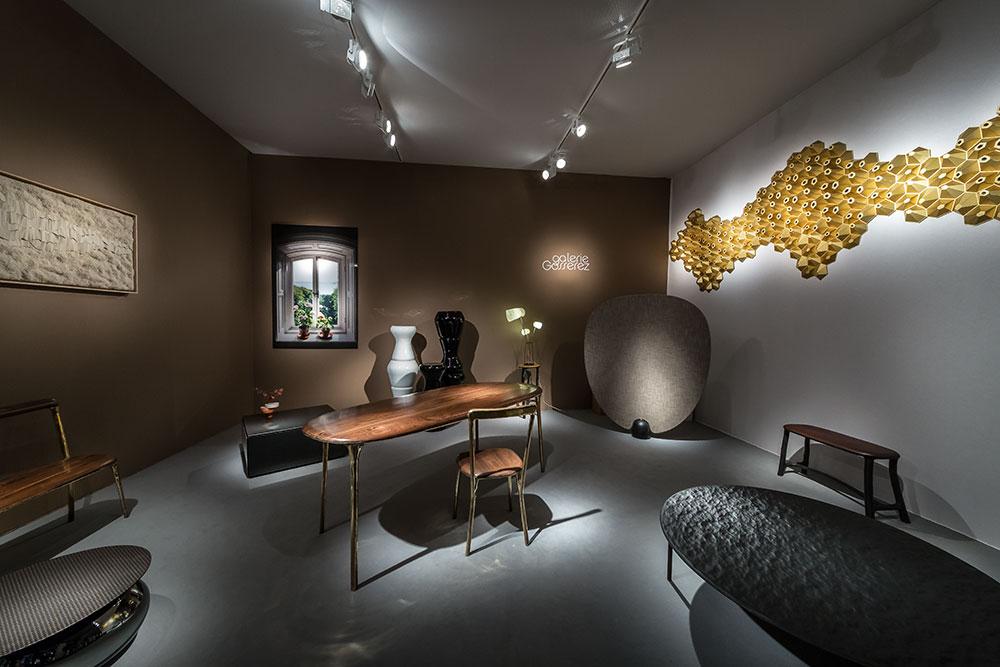 Galerie Gosserez, scénographie par Elise Faureau © Seen By Kloé pour Blog Esprit Design