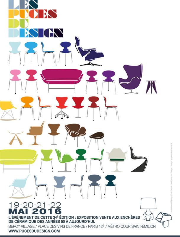 Agenda : Puces du Design 2016, c'est maintenant !