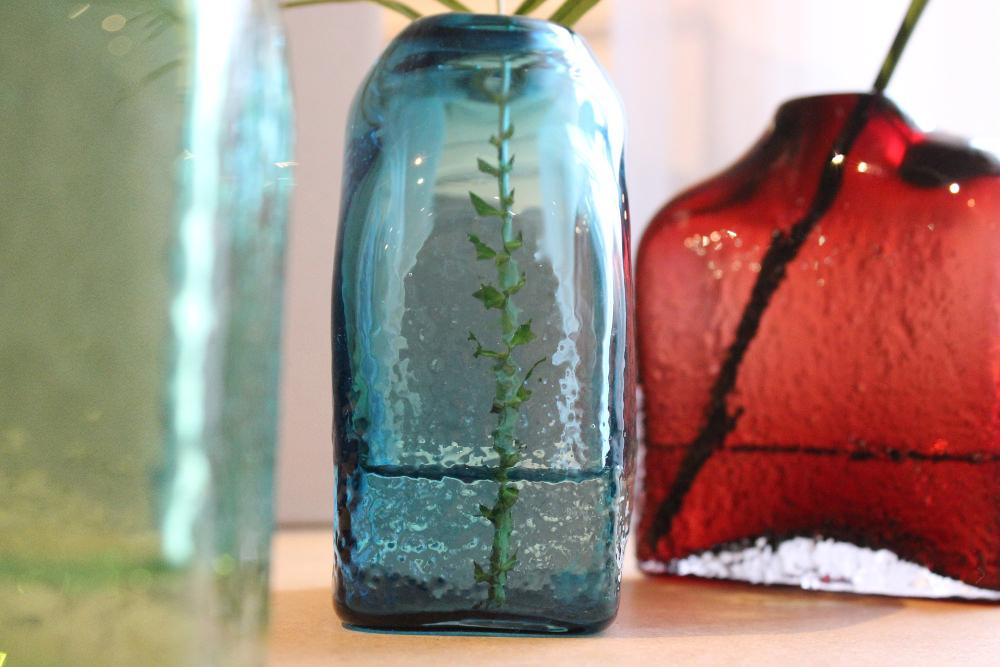 Benjamin fournier  : Concrete Blown Glass