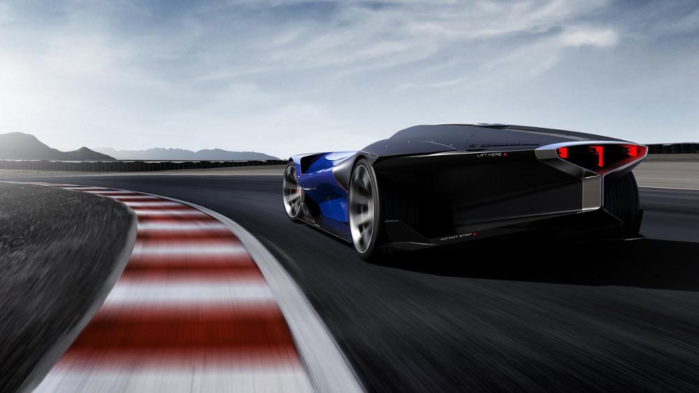 Concept Peugeot L500 R Hybrid