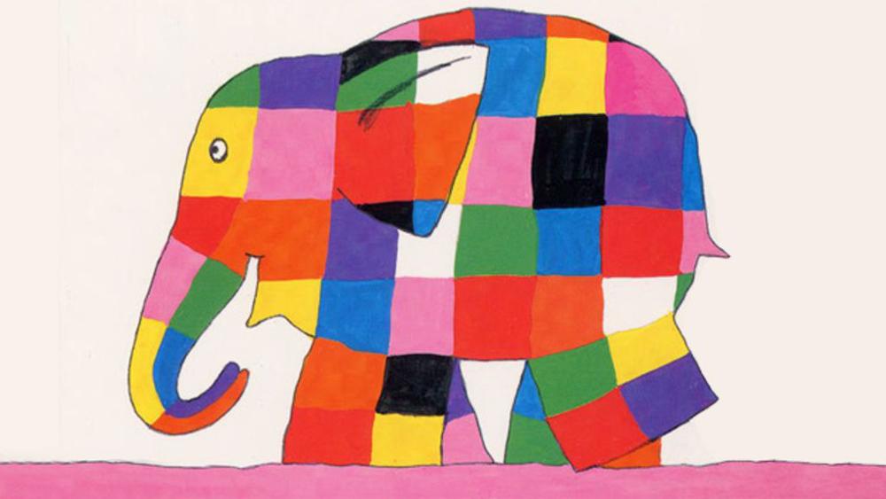 éléphant de David McKee