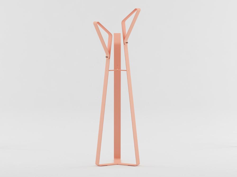 Flamingo le portemanteau par Patricia Alambiaga