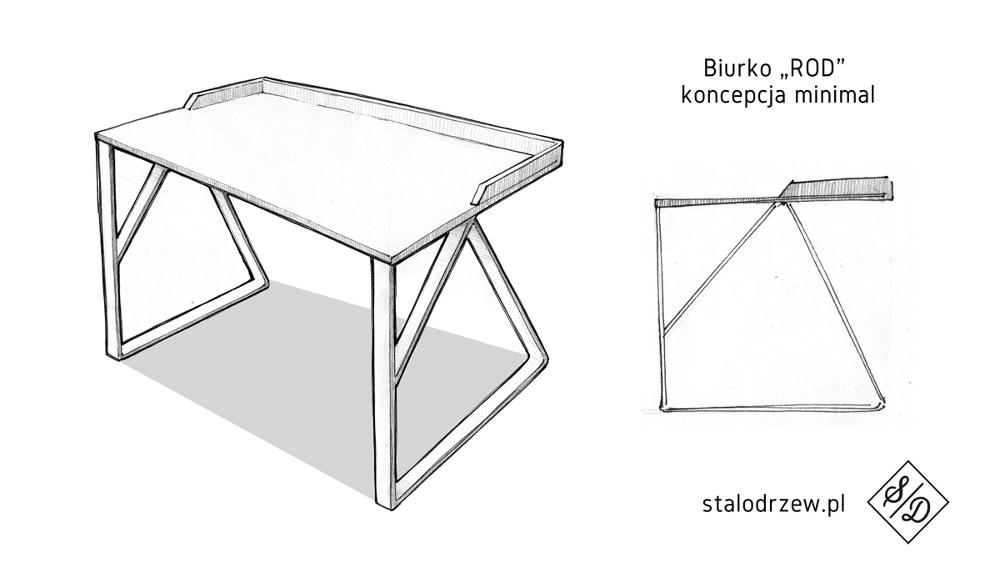 ROD bureau à angles par Rafal Burczynski