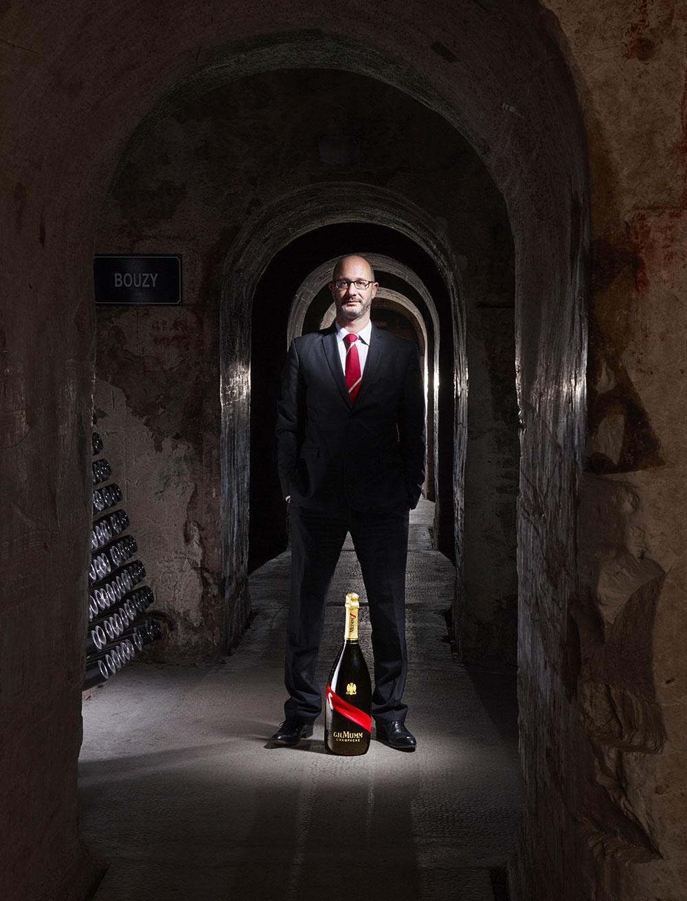 Didier Mariotti, chef de caves de la maison Mumm © Mumm