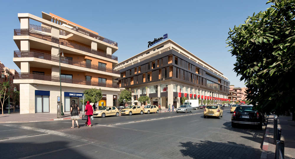 Destination MARRAKECH : LE RADISSON BLU CARRÉ EDEN 5*