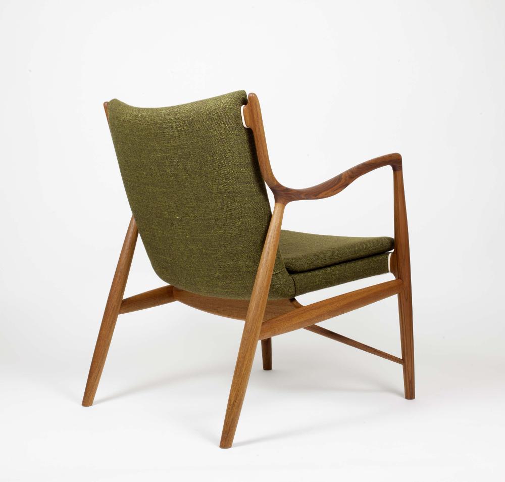 Le fauteuil FJ 45. Encore une collaboration avec Niels Vodder.