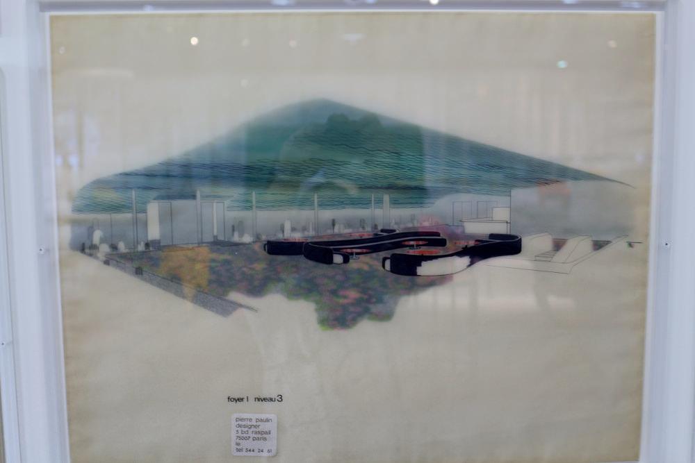 Reportage : Exposition Pierre Paulin au Centre Pompidou