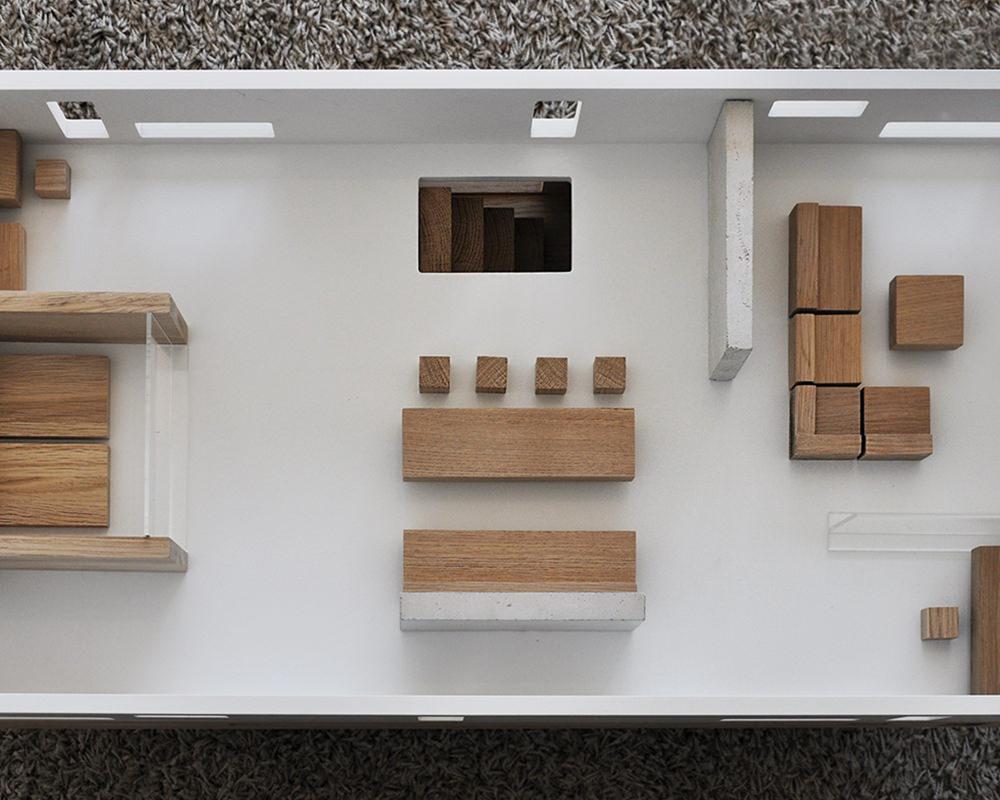 Hus Table house par Olga Szymanska